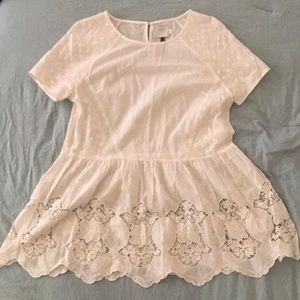 Beautiful Anthropologie top perfect for everyday
